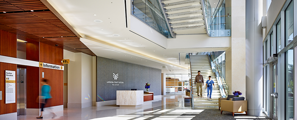 Main line health the heart pavilion at lankenau medical for Pavilion cost per square foot